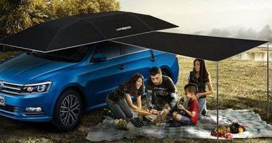 Автоматический зонтик для машин Lanmodo