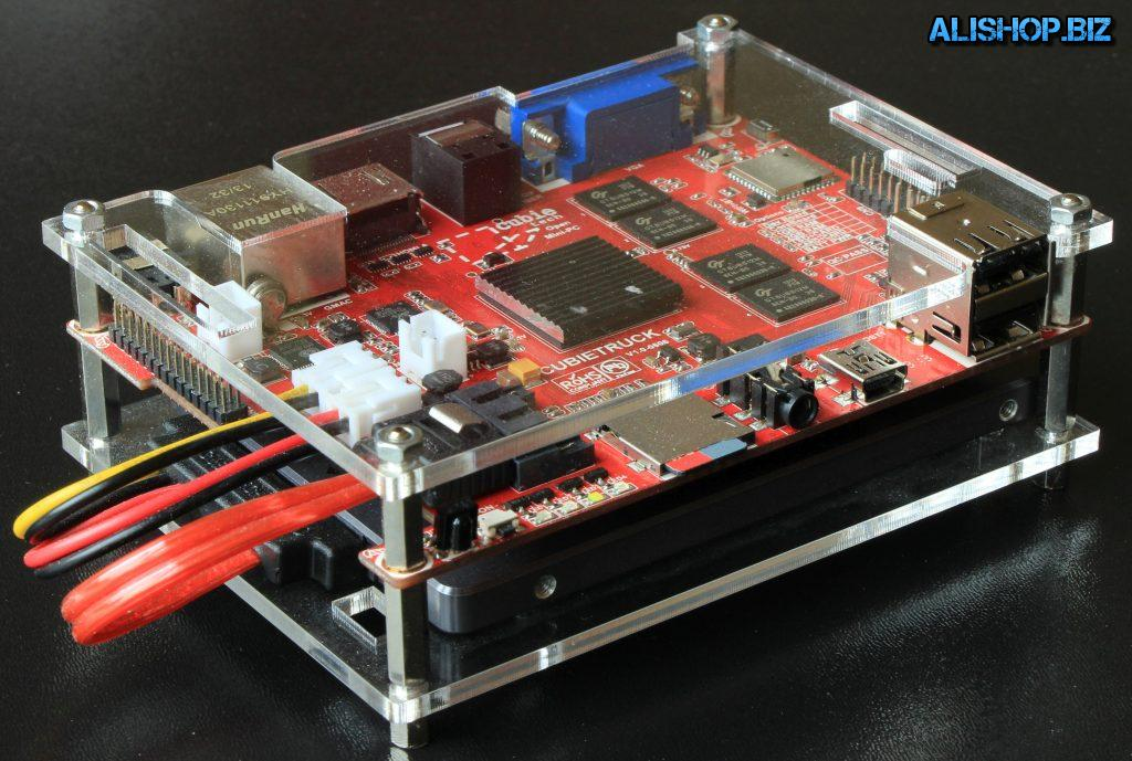 Домашний сервер на плате - Cubieboard3 (CubieTruck)