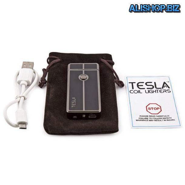 Необычная электроимпульсная зажигалка Tesla