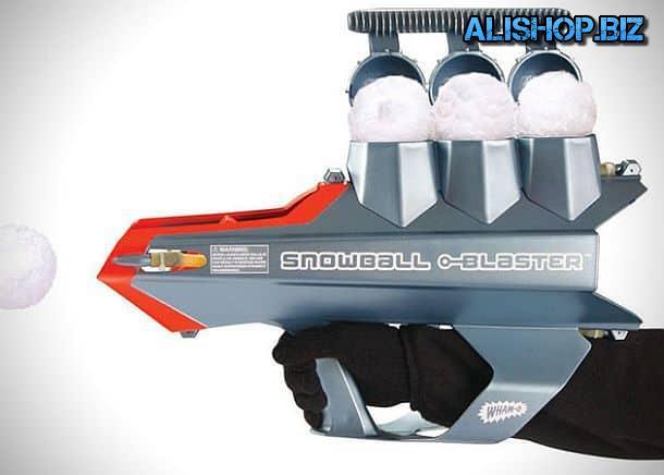 Снежкомёт нового поколения Arctic Force SnowBall Blaster