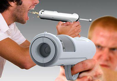 Пистолет выстреливающий алкоголем (Alcohol Shot Gun)