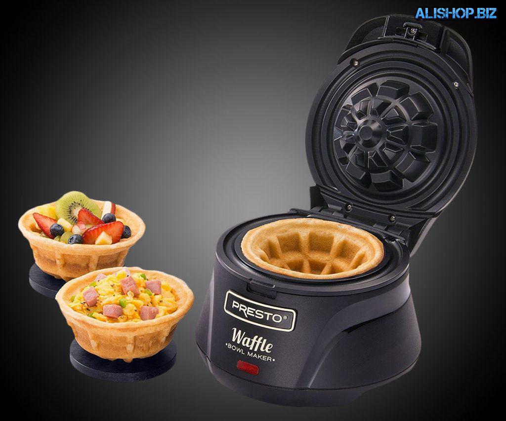 Бельгийская Вафельница (Belgian Bowl Waffle Maker)