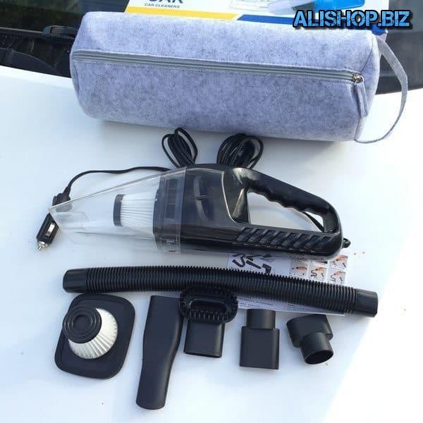 Портативный пылесос для уборки в автомобиле