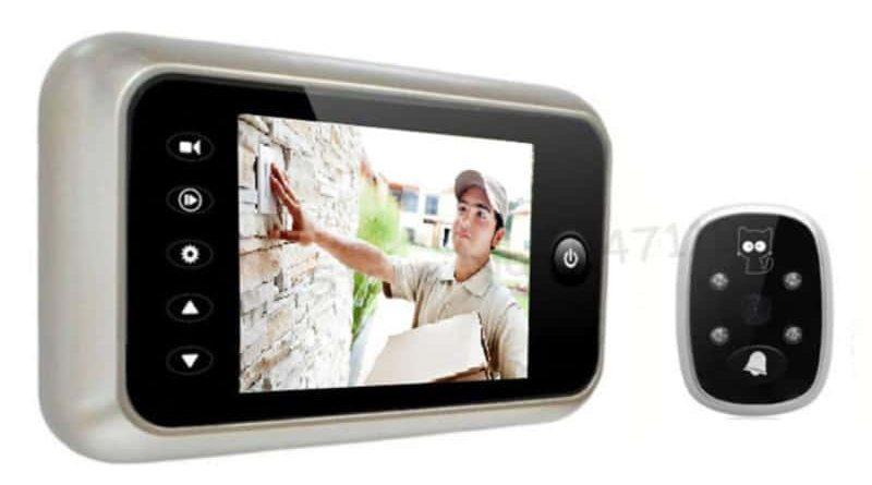 Видеозвонок с ИК-подсветкой и цветным изображением