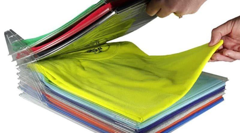Многоуровневый органайзер для хранения одежды
