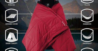 Многофункциональное аутдорное одеяло Kijaro Kubie
