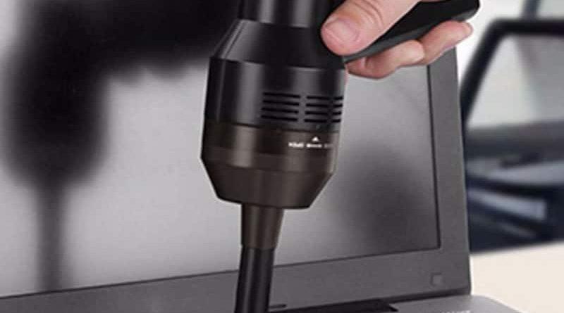 USB-пылесос для чистки клавиатуры