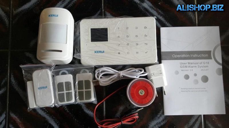 GSM-сигнализация Kerui