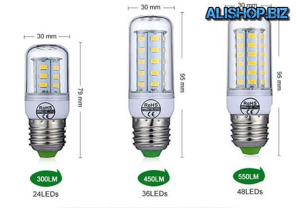 LED-лампочка с цоколем E27/E14