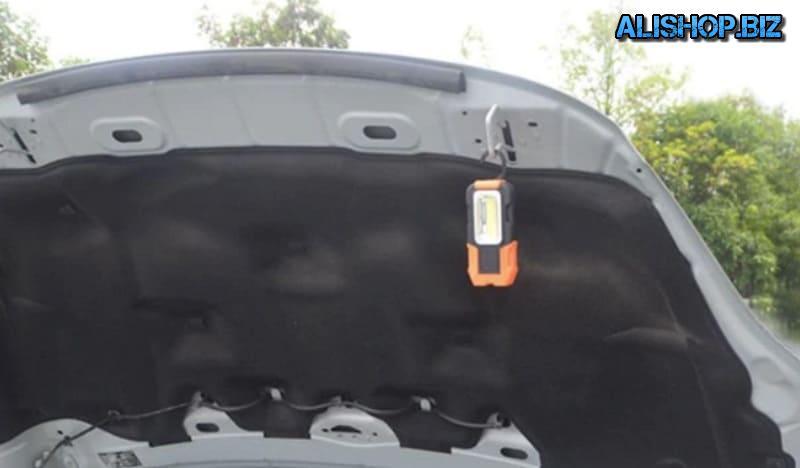 Светодиодный фонарь на магнитной основе