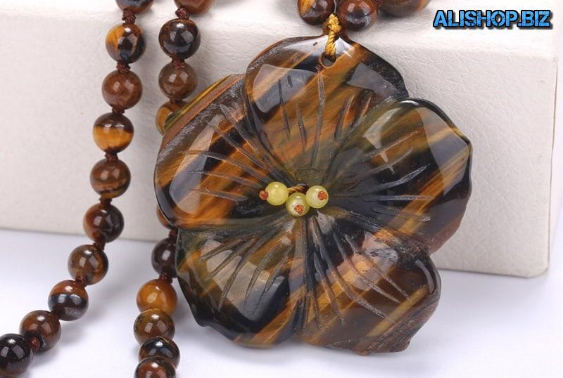 Ожерелье «Каменный цветок»