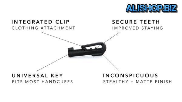 Скрытый ключ для открывания наручников HK2 Colors