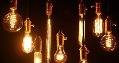 Лампочки накаливания в винтажном стиле
