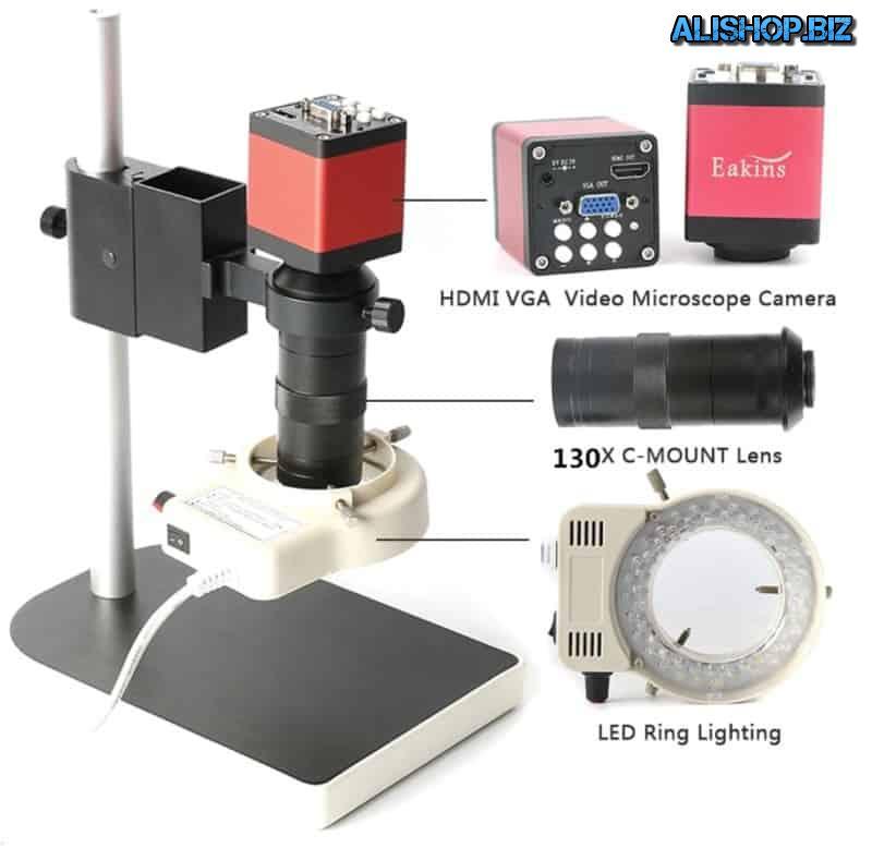 Микроскоп с выводом на внешний экран Eakins