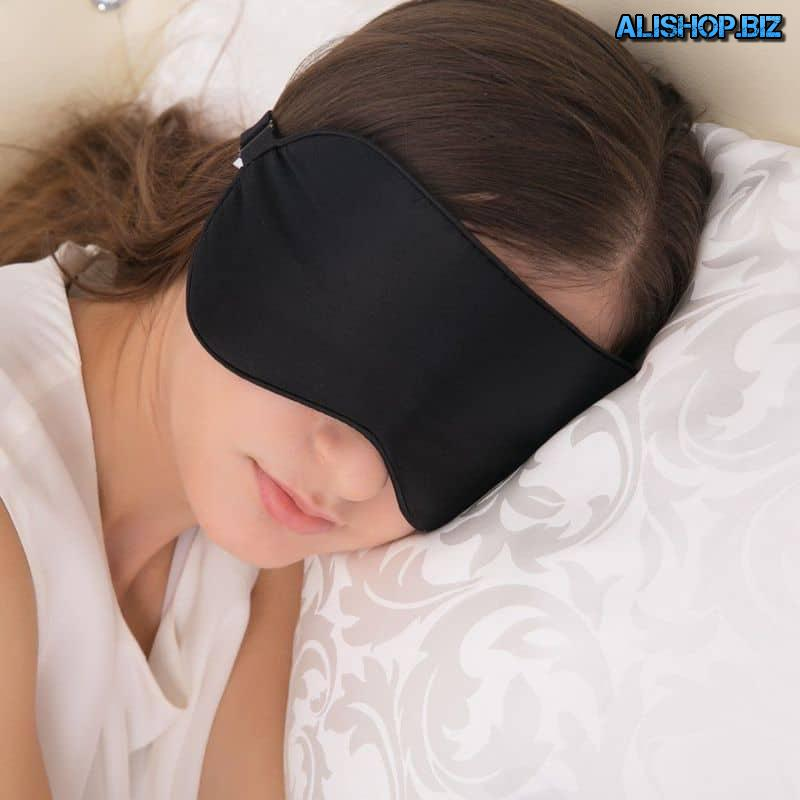Silk sleep mask Alaska Bear