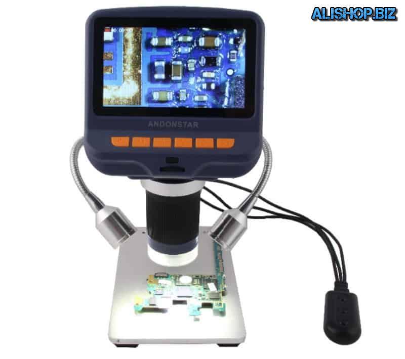 Продвинутый микроскоп с экраном Andostar