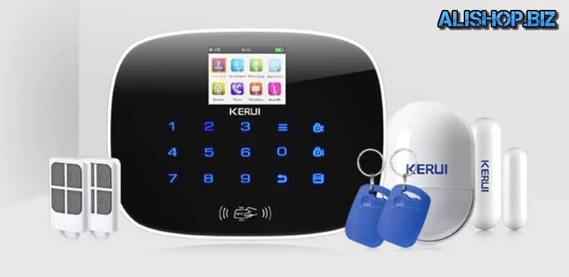 Охранный блок с цветным экраном Kerui G19