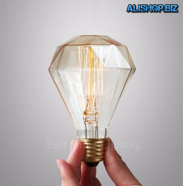 Лампа накаливания «Алмаз»