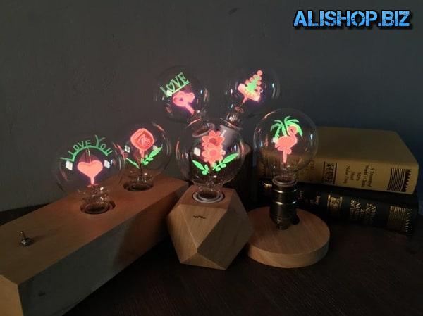 Лампы с декоративным украшением