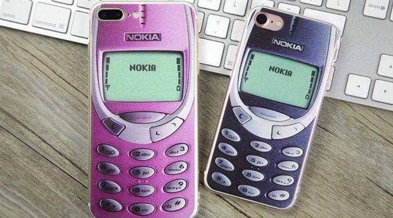 Чехол для iPhone в виде Nokia 3310