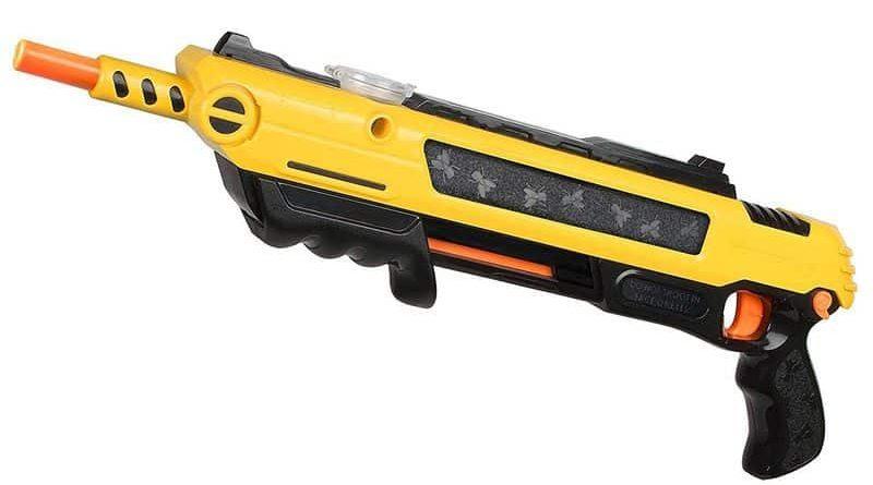 Необычное ружьё-мухобойка Bug-A-Salt 2.0