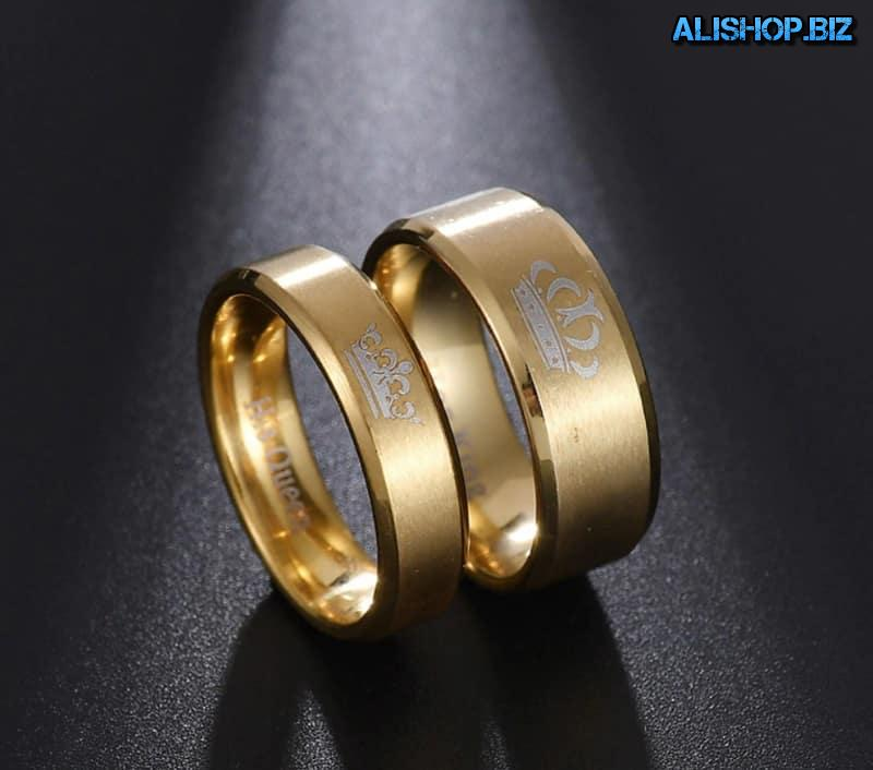 "A set of rings ""King and Queen"""