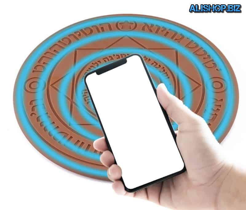 Wireless charging Kobwa in the form of a magic circle