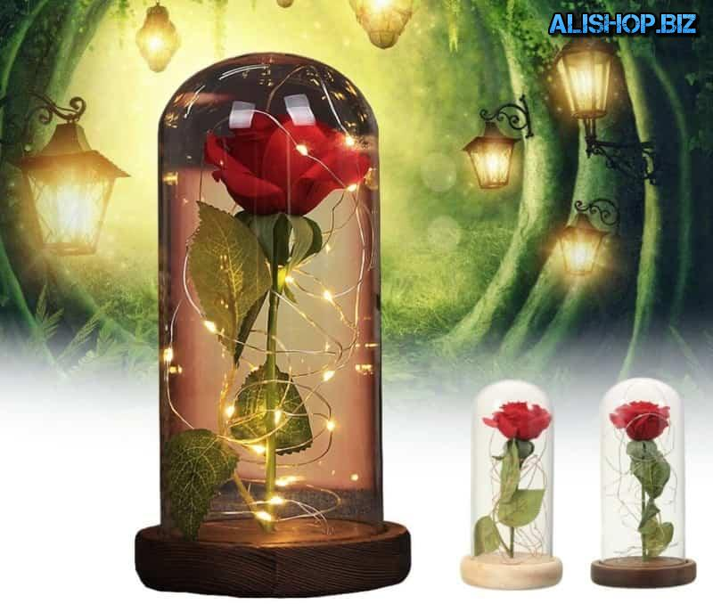 "Romantic lamp ""rose Bank"""
