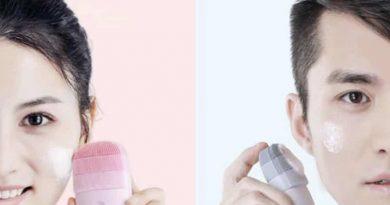 Звуковая щётка для глубокого очищения лица от Xiaomi