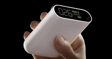 Портативная мониторинг система чистоты воздуха от Xiaomi