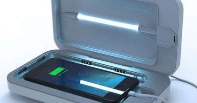 Зарядник с функцией стерилизации PhoneSoap 3
