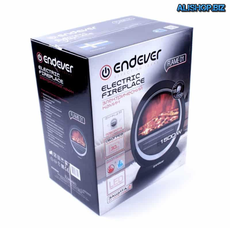 Портативный электрический камин Endever Flame 01