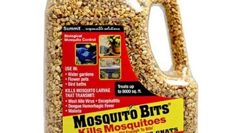 Биологический инсектицид для борьбы с комарами