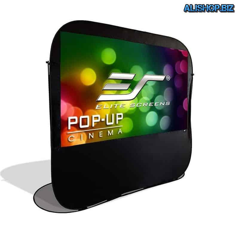 Экран проектора Pop-Up Cinema для отдыха на природе