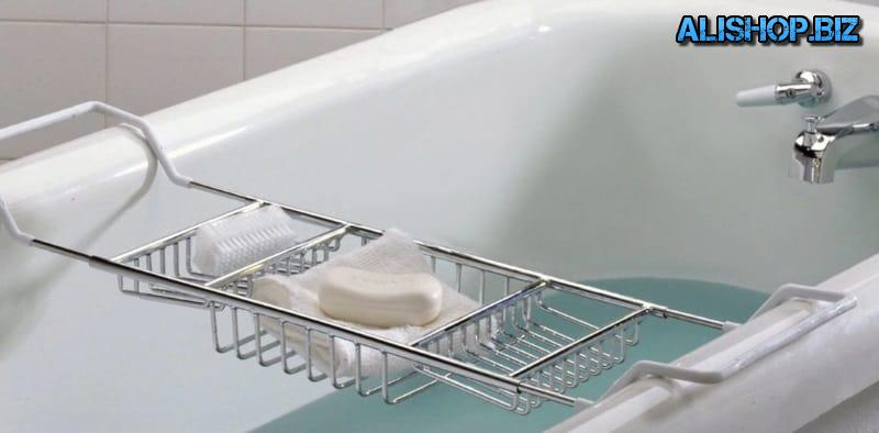 Multifunctional stand for receiving a bath
