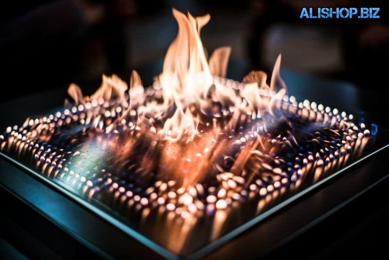 Огненный музыкальный камин Blazing Beats