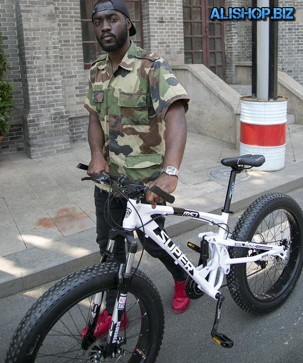 Full suspension bike Super