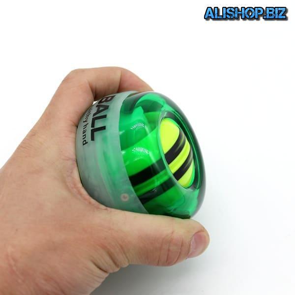 Gyro ball to develop wrist