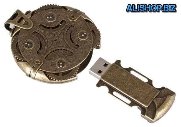 USB-флеш-накопитель Cryptex с кодовым замком