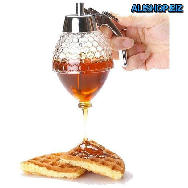 Lever dispenser for liquid honey Norpro