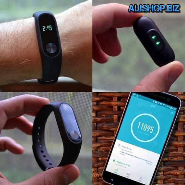 The most popular fitness bracelet Xiaomi Mi Band 2