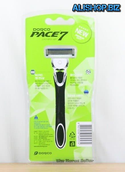Razor with 7 blades Dorco Pace7