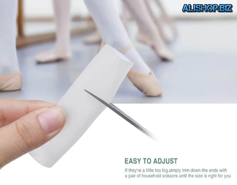 Elastic tube for finger protection