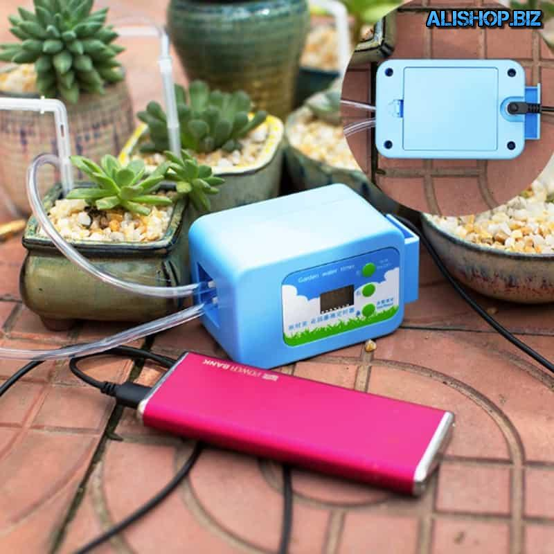 Portable drip irrigation system