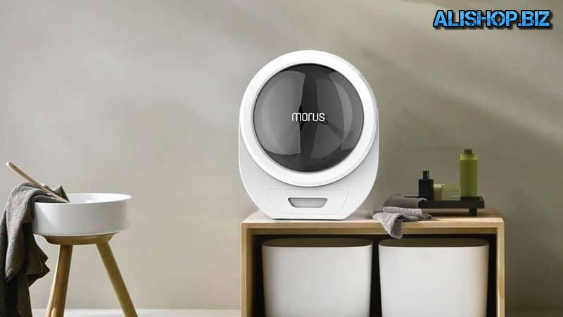 Clothing dryer Morus Zero on the vacuum