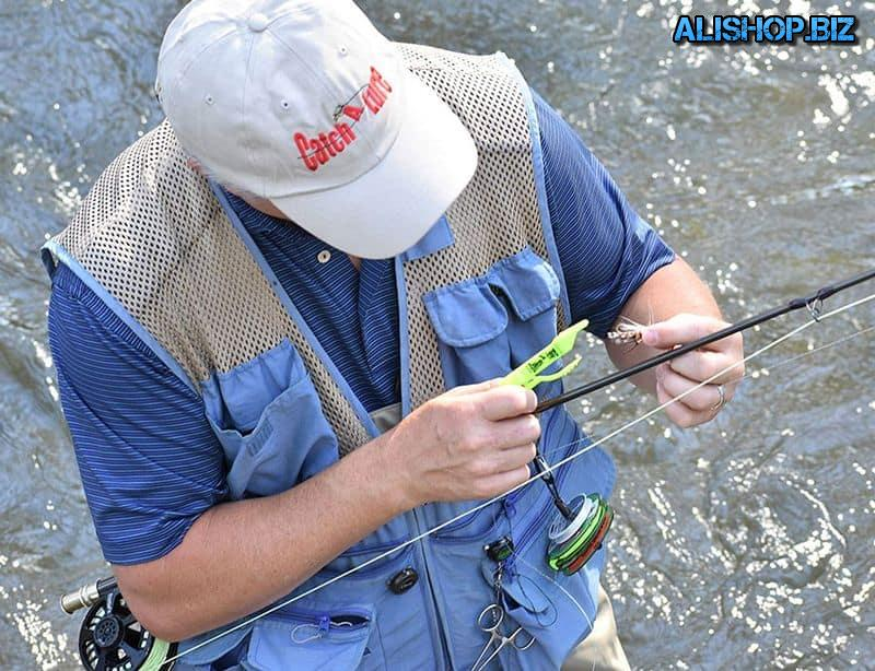 Fixture for return of tangled hooks Catch-A-Lure