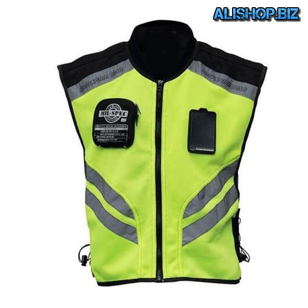 Vest for motorcyclists