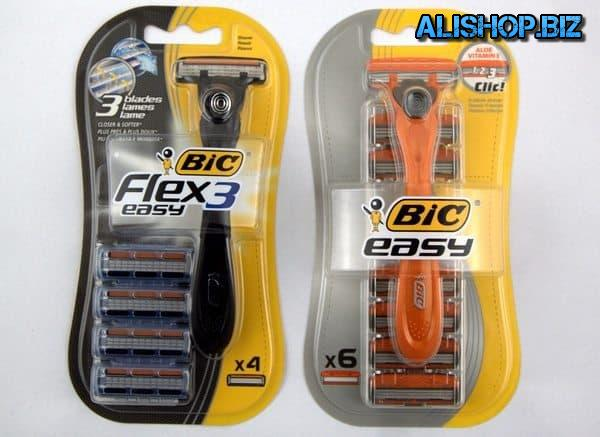 Flexible and easy-shaver Bic Flex&Easy