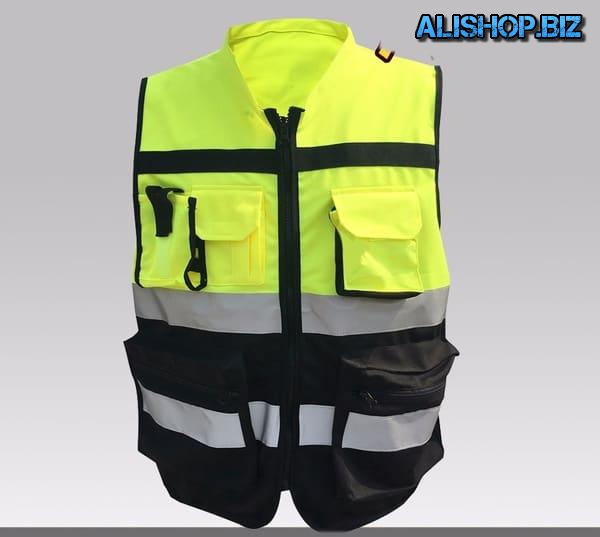 Combo black and yellow vest