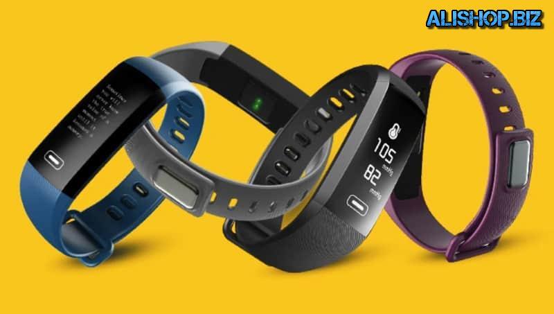 Smart fitness bracelet TEZER R5MAX